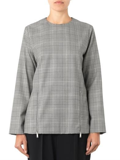 Stella McCartney Gordon Prince of Wales-check top