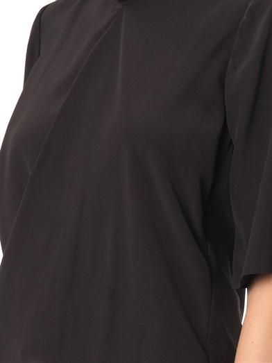 Stella McCartney Darrel draped-front blouse
