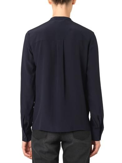 Stella McCartney Caroline bi-colour silk blouse