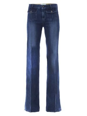 Izzy high-rise boot-cut jeans