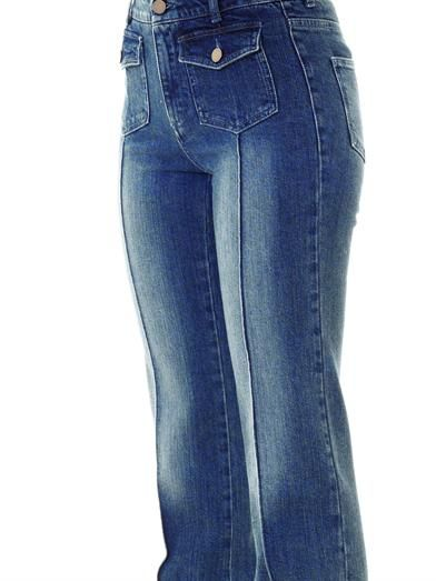 Stella McCartney Izzy high-rise boot-cut jeans