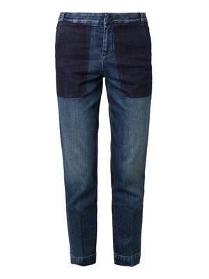 Lambert low-slung boyfriend jeans