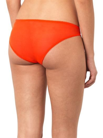 Stella McCartney Penny Buzzing satin briefs