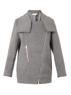 Fernanda wool biker jacket