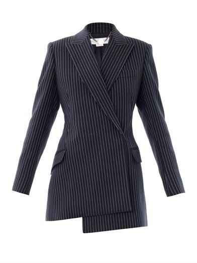 Stella McCartney Clarice pinstripe wool blazer