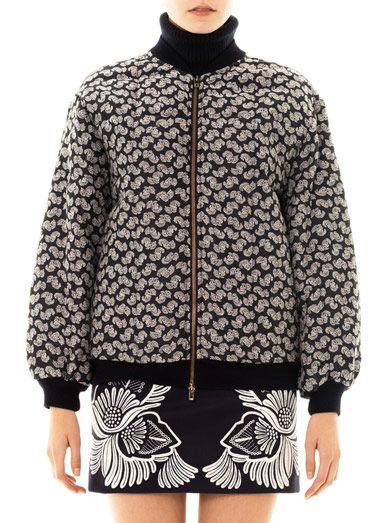 Stella McCartney Eleanor feather flower jacket