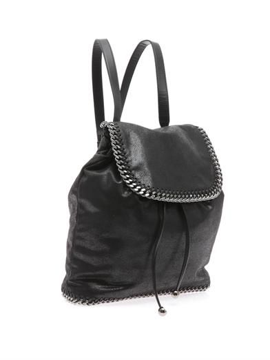 Stella McCartney Falabella faux-suede backpack