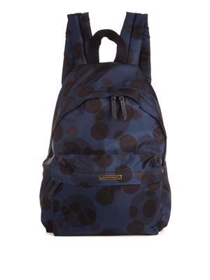 Polka-dot backpack