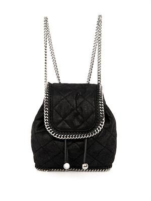 Falabella quilted mini backpack