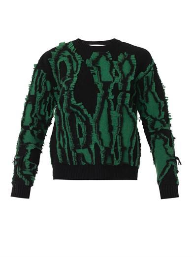 Stella McCartney Shibori merino-wool sweater