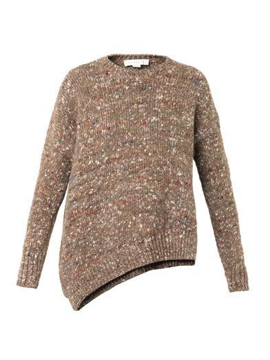 Stella McCartney Asymmetric wool-blend sweater