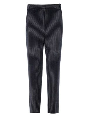 Florian pinstripe tailored trousers