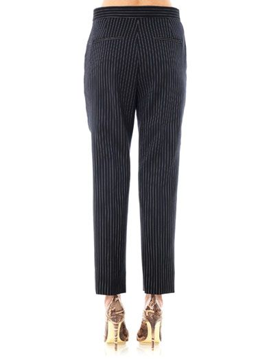 Stella McCartney Florian pinstripe tailored trousers