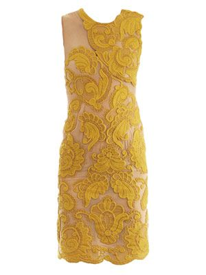 Steven embroidered silk dress
