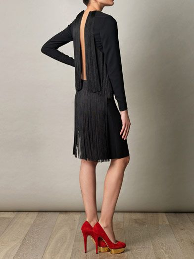 Stella McCartney George fringe dress