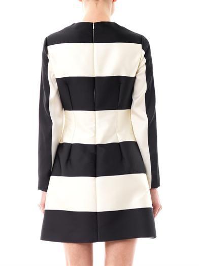 Stella McCartney Rosy stripe flared skirt dress