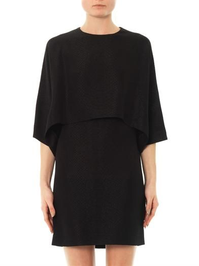 Stella McCartney Snake jacquard dress