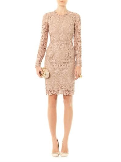 Stella McCartney Lise lace fitted dress