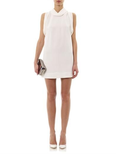 Stella McCartney Breta snake-jacquard dress