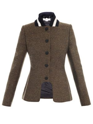 Natalie tweed equestrian jacket