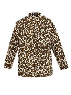 Caddington leopard-print jacket