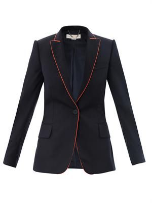 Petra contrast piping jacket