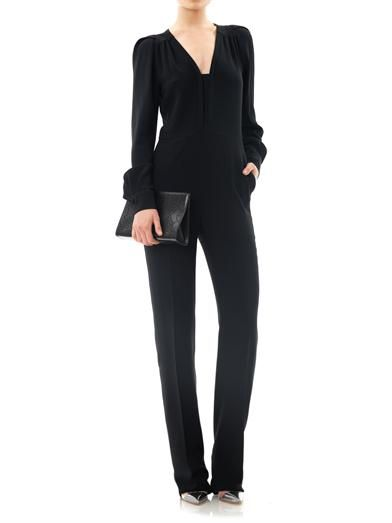 Stella McCartney Ofelia stretch-cady jumpsuit