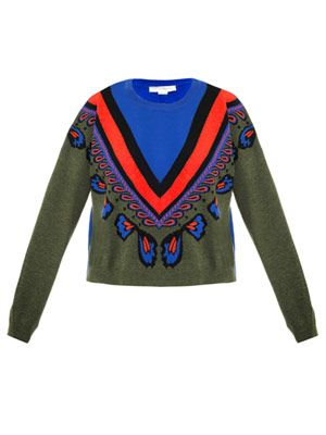 Fairisle cropped sweater
