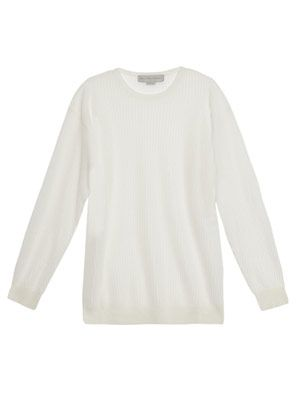 Cricket metallic-knit sweater