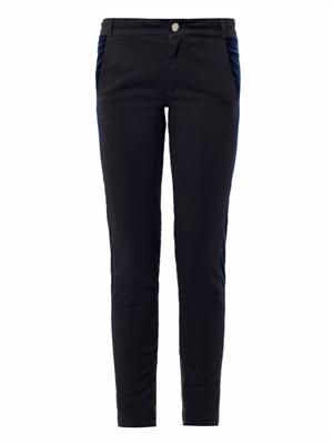 Tuxedo mid-rise skinny jeans