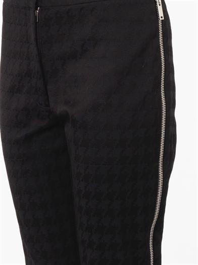 Stella McCartney Dalmi hound's-tooth jacquard trousers