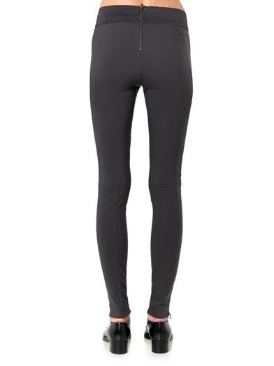 Stella McCartney Heather stretch-jersey leggings