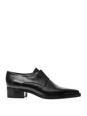 Frankie faux-leather loafers