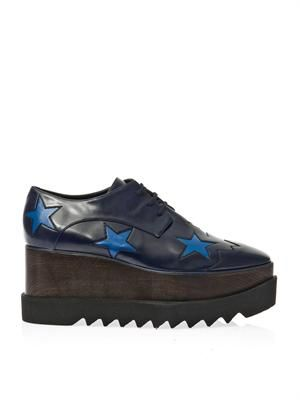 Elyse lace-up platform shoes