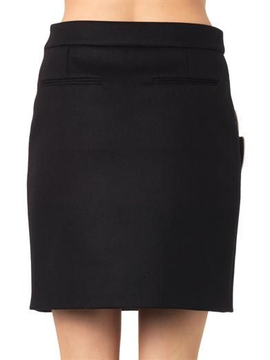Stella McCartney Flynn zip-detail mini skirt