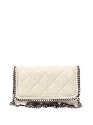 Falabella quilted cross-body b