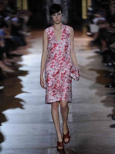Stella McCartney Giona daisy-jacquard dress