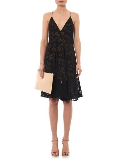 Stella McCartney Anna daisy devoré dress