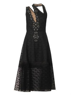 Caroline rosebud lace dress