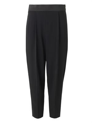 Charlotte stretch-cady trousers