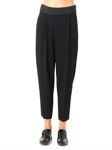 Stella McCartney Charlotte stretch-cady trousers