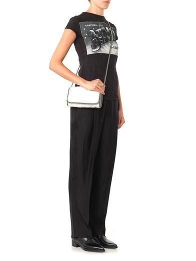 Stella McCartney Spot-jacquard trousers