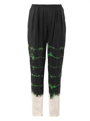 Christine tie-dye trousers