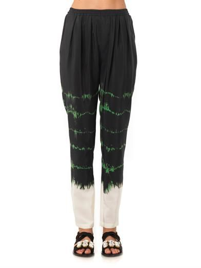 Stella McCartney Christine tie-dye trousers