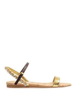 Jodie crystal sandals