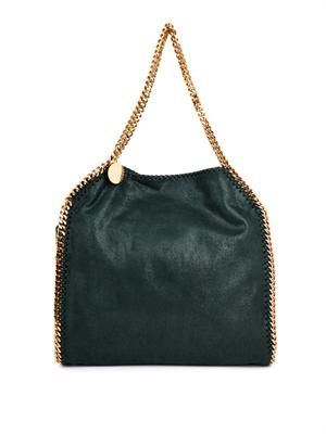 Falabella medium faux-suede shoulder bag