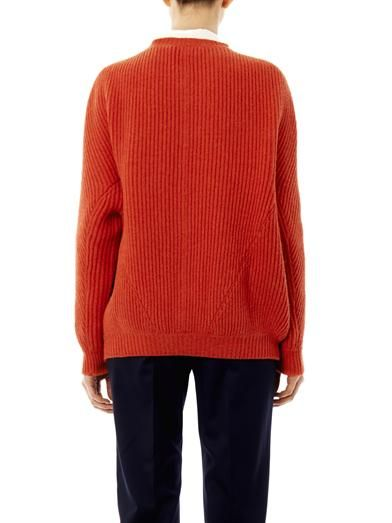 Stella McCartney Ribbed knit wool sweater