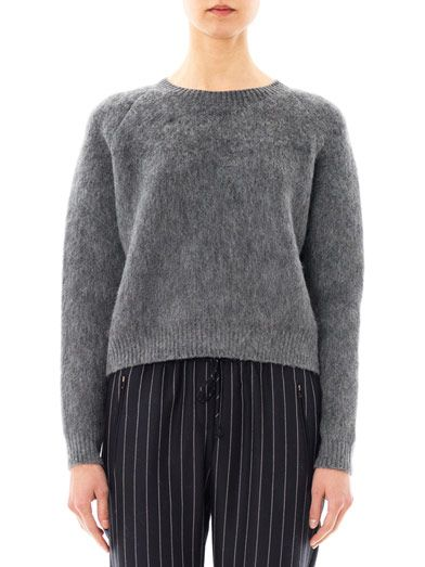 Stella McCartney Textured wool-mohair sweater