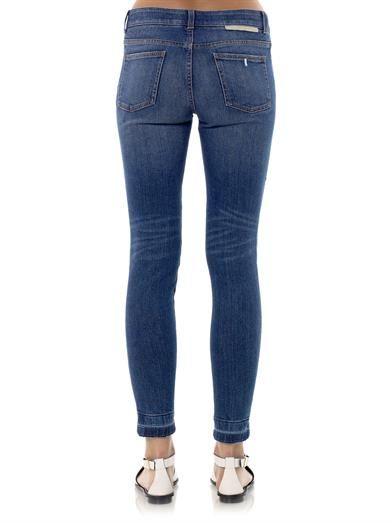 Stella McCartney Mid-rise skinny ankle grazer jeans