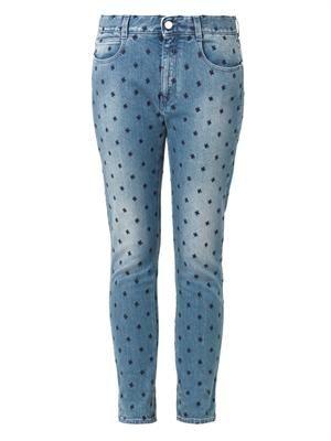 Stars low-slung slim boyfriend jeans